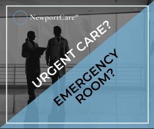 Should I go to Urgent Care or the ER?