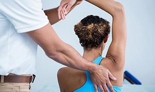 Testing for Shoulder Impingement (Neer test)