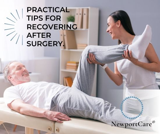 Tips to prepare for orthopedic surgery and improve your recovery time.